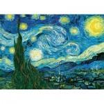 Puzzle   Pièces XXL - Van Gogh Vincent - Nuit Etoilée sur le Rhône