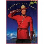 Puzzle   Royal Canadian Mounted Police - Maintain the Right