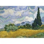 Puzzle   Van Gogh Vincent - Wheat Field with Cypresses