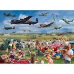 Puzzle  Jumbo-11030 Marcello Corti : Amazing Airshow