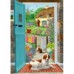 Puzzle  Jumbo-11040 En travers de la Porte du Cottage