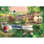 Puzzle  Jumbo-11043 Around Britain - Summer Haze, Cotswolds