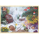 Puzzle  Jumbo-11094 Anne Searle - Winter Hedgerow