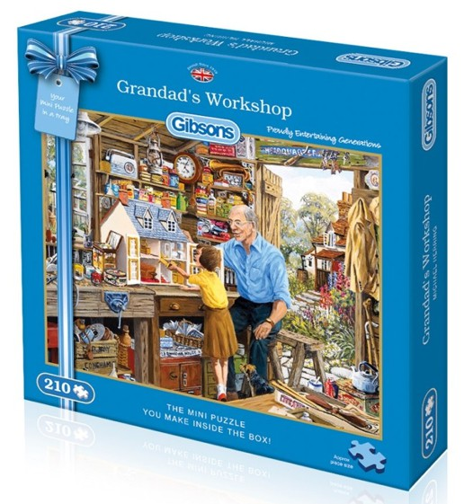 puzzle dans l 39 atelier de papy gibsons g2300 210 pi ces puzzles campagne planet 39 puzzles. Black Bedroom Furniture Sets. Home Design Ideas