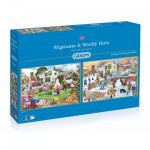 2 Puzzles - Trevor Mitchell - Wigwams and Woolly Hats