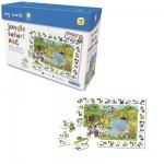 Puzzle  Gibsons-G1007 Jungle : Safari des lettres