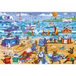 Puzzle  Gibsons-G3087 Beach Buddies