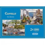 Gibsons-G5004 2 Puzzles - Paysages pittoresques