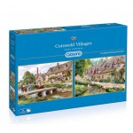 Gibsons-G5028 2 Puzzles - Terry Harrison : Cotswold villages