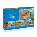 Gibsons-G5033 4 Puzzles - Trevor Mitchell : Bobby's Beat