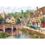 Puzzle  Gibsons-G6070 Village de Castle Combe