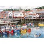 Puzzle  Gibsons-G6090 Port de pêche de Scarborough