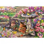 Puzzle  Gibsons-G6149 Heure du Bain