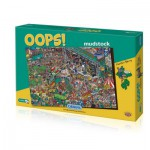 Puzzle  Gibsons-G7061 Oops! Mudstock - Martin Berry