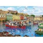 Puzzle   Pièces XXL - Dominic Davidson - Cobh Harbour