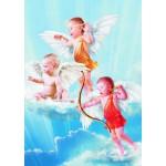 Puzzle  Gold-Puzzle-60072 Les Trois Petits Anges