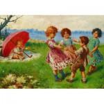 Puzzle  Gold-Puzzle-60676 Federico Olivia : Jeux d'Enfants