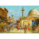 Puzzle  Gold-Puzzle-60744 Carl Wuttke : Orientalist Street View