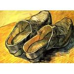 Puzzle  Grafika-Kids-00014 Vincent Van Gogh : Une Paire de Sabots en Cuir, 1888