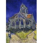 Puzzle  Grafika-Kids-00035 Vincent Van Gogh : L'église d'Auvers-sur-Oise, 1890