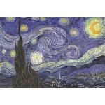 Puzzle  Grafika-Kids-00037 Pièces XXL - Vincent Van Gogh : La Nuit étoilée sur le Rhône, 1889