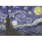 Puzzle  Grafika-Kids-00038 Vincent Van Gogh : La Nuit étoilée sur le Rhône, 1889