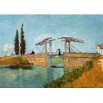 Puzzle  Grafika-Kids-00047 Van Gogh Vincent : Pont de Langlois en Arles, 1888