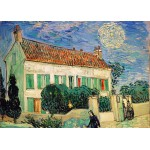 Puzzle  Grafika-Kids-00058 Van Gogh Vincent : La Maison Blanche, la Nuit, 1890