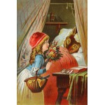 Puzzle  Grafika-Kids-00121 Le Petit Chaperon Rouge, illustration par Carl Offterdinger