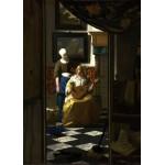 Puzzle  Grafika-Kids-00156 Vermeer Johannes : La lettre d'amour, 1669-1670