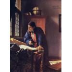 Puzzle  Grafika-Kids-00162 Vermeer Johannes: Le Géographe, 1668-1669