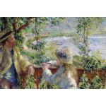 Puzzle  Grafika-Kids-00185 Pièces XXL - Renoir Auguste : Près du Lac, 1879