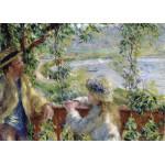 Puzzle  Grafika-Kids-00186 Renoir Auguste : Près du Lac, 1879