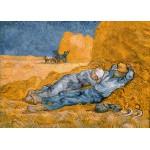 Puzzle  Grafika-Kids-00198 Pièces Magnétiques - Van Gogh Vincent : La Sieste (d'après Millet), 1890