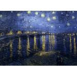 Puzzle  Grafika-Kids-00201 Pièces Magnétiques - Vincent Van Gogh : La Nuit Etoilée, 1888
