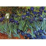 Puzzle  Grafika-Kids-00219 Pièces Magnétiques - Van Gogh Vincent : Les Iris, 1889