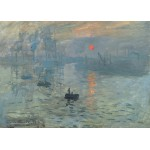 Puzzle  Grafika-Kids-00228 Pièces Magnétiques - Claude Monet : Impression au Soleil Levant, 1872