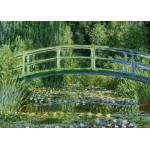 Puzzle  Grafika-Kids-00230 Pièces Magnétiques - Monet Claude : Le Bassin aux Nymphéas et le Pont Japonais, 1897-1899
