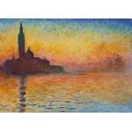 Puzzle  Grafika-Kids-00231 Pièces Magnétiques - Claude Monet : Saint-Georges-Majeur au Crépuscule, 1908
