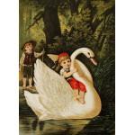 Puzzle  Grafika-Kids-00237 Pièces Magnétiques - Hansel et Gretel, illustration par Carl Offterdinger