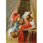 Puzzle  Grafika-Kids-00239 Pièces Magnétiques - Le Petit Chaperon Rouge, illustration par Carl Offterdinger
