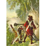 Puzzle  Grafika-Kids-00247 Pièces Magnétiques - Robinson Crusoe par Offterdinger & Zweigle