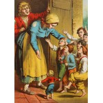 Puzzle  Grafika-Kids-00248 Pièces Magnétiques - Carl Offterdinger : Le Petit Poucet