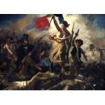 Puzzle  Grafika-Kids-00289 Delacroix Eugène : La Liberté Guidant le Peuple, 1830