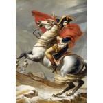 Puzzle  Grafika-Kids-00353 Pièces XXL - Jacques-Louis David: Bonaparte franchissant le Grand Saint-Bernard, 20 mai 1800