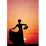 Puzzle  Grafika-Kids-00393 Pièces XXL - Flamenco at Sunset