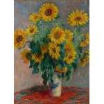 Puzzle  Grafika-Kids-00456 Claude Monet: Bouquet de Tournesols, 1881