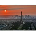Puzzle  Grafika-Kids-00501 Coucher de Soleil sur Paris
