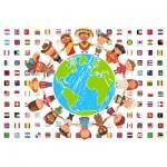 Puzzle  Grafika-Kids-00545 SOS MEDITERRANEE - Enfants de tous Pays