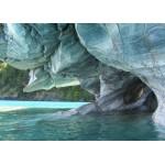Puzzle  Grafika-Kids-00668 Pièces Magnétiques - Grotte de Marbre Bleu, Chili